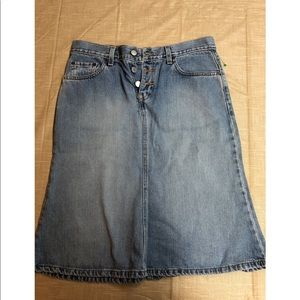 Vintage Levi's Denim Skirt